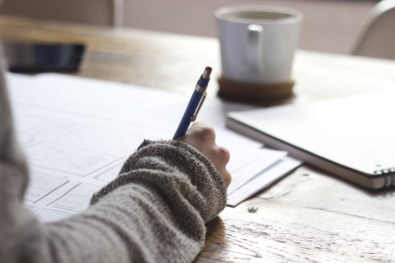 Schrijf jij nog wel eens met de hand?
