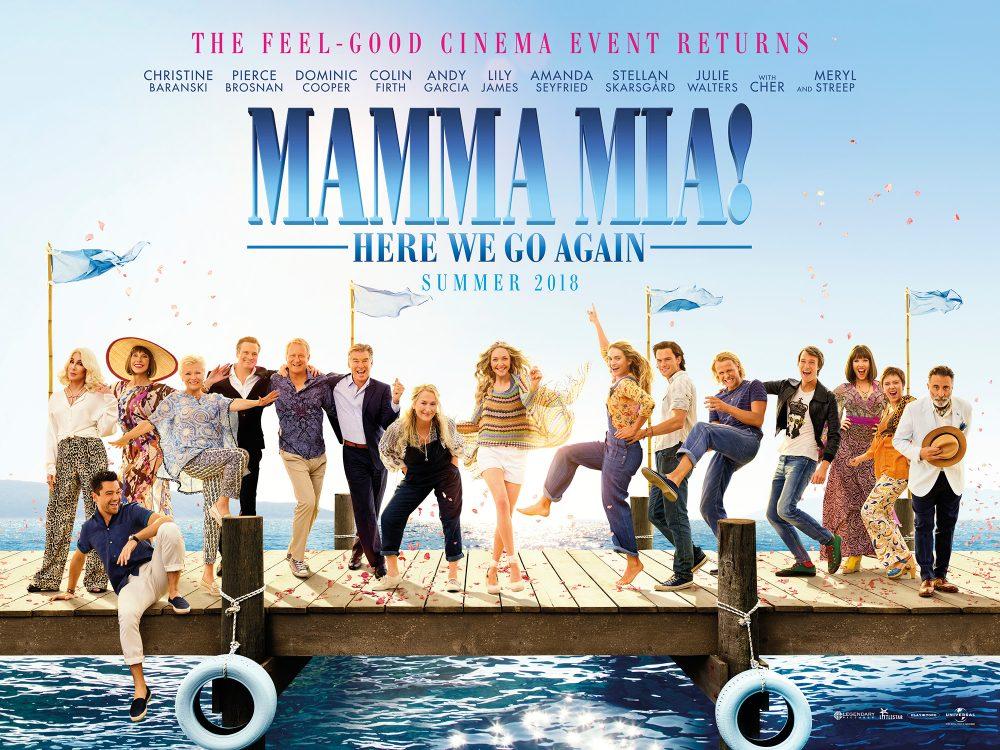 Vanaf vandaag in de bios: Mamma Mia! Here We Go Again