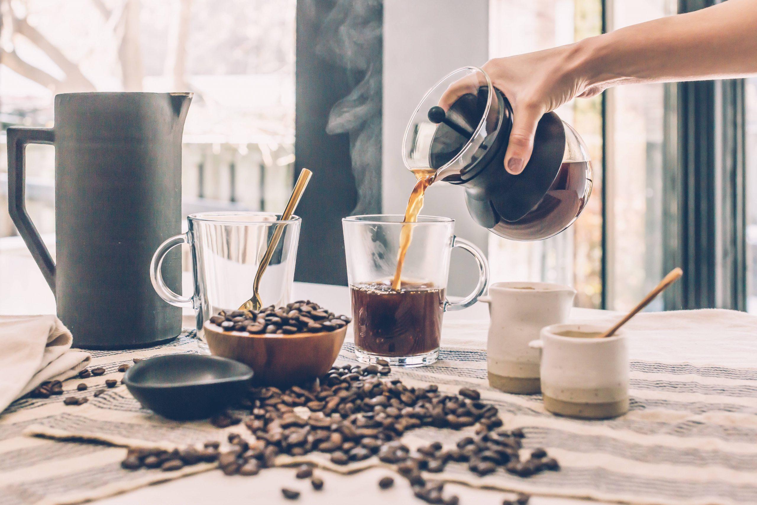 Koffie met mate is gezond voor het hart